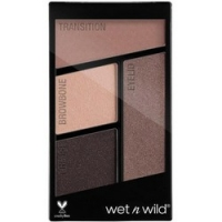 Wet-n-Wild Color Icon Eyeshadow Quad Silent Treatment - Палетка теней для век, 4 оттенка, тон E337, 4,5 г