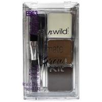 Wet-n-Wild Ultimate Brow Kit ash brown - Набор для бровей, тон E963
