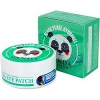 Whitecospharm White Organia Panda Eye Patch - Патчи гидрогелевые для кожи вокруг глаз с золотом и коллагеном, 60 шт