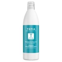 Купить Tefia Treats by Nature - Шампунь для вьющихся волос с экстрактом зеленого яблока, 1000 мл
