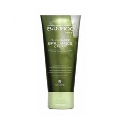 Alterna Bamboo Luminous Shine Silk-Sleek Brilliance Cream - Несмываемый крем для сияния и блеска волос 125 мл