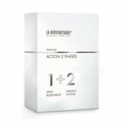 La Biosthetique Speciality Hair Shaft Treatment Action 2 Phases - Комплексный уход для восстановления волос (набор) 50+100 мл