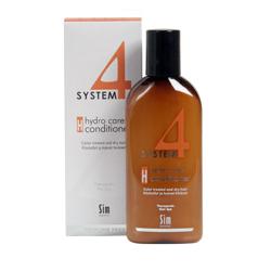 Sim Sensitive System 4 Therapeutic Hydro Care Conditioner H - Терапевтический бальзам «Н» для поврежденных волос, 500 мл