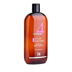 Sim Sensitive System 4 Therapeutic Oil Cure Mask O - Терапевтическая маска «О» для всех типов волос 500 мл