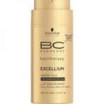 Schwarzkopf Professional Bonacure Excellium - Молочко смягчающее для волос, 100 мл.
