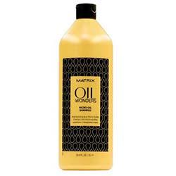 Matrix Oil Wonders Micro-Oil Shampoo - Легкий шампунь с микро-каплями марокканского арганового масла, 1000 мл.