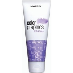Matrix Colorgraphics Lift & Tone Cool Toner - Тонер холодный, 118 мл.