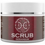 Valentina Kostina Organic Cosmetic Geranium Scrub - Скраб для тела Герань, 200 мл.