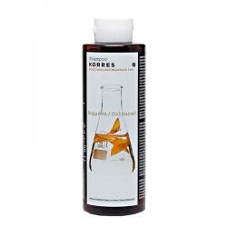Korres Shampoo Sunflower & Mountain Tea - Шампунь для окрашенных волос с подсолнухом и гаультерией 250 мл