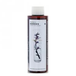 Korres Shampoo Almond & Linseed - Шампунь для сухих и поврежденных волос с миндалем и семенами льна 250 мл
