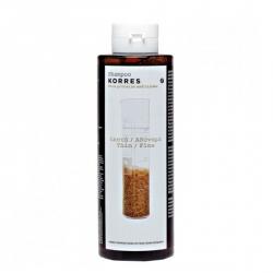 Korres Shampoo Rice Proteins & Linden - Шампунь для тонких ломких волос с протеинами риса и липой 250 мл