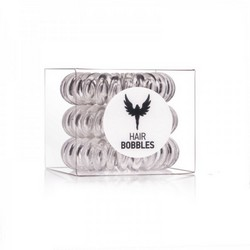 Hair Bobbles HH Simonsen Clear 3-Pack - Резинка-браслет для волос, прозрачная