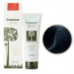 Gain Cosmetics Haken Premium Pearll Pure Gel Color-Charcoal Black - Маникюр для волос, тон черный, 220 г