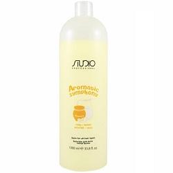 Kapous Aromatic Symphony - Бальзам для всех типов волос Молоко и мёд, 1000 мл.