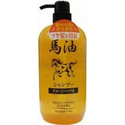 Junlove Horse Oil Shampo - Шампунь для поврежденных волос, 1000 мл.