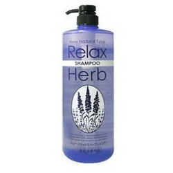 Junlove New Relax Herb Shampoo - Шампунь для волос с расслабляющим эффектом с маслом лаванды, 1000 мл.