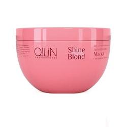 Ollin Shine Blond - Маска с экстрактом эхинацеи 300 мл