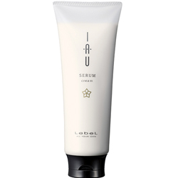 Lebel IAU Serum Cream - Аромакрем для увлажнения и разглаживания волос, 200 мл