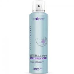 Hair Company Professional Light Mineral Pearl Brightening Spray - Спрей с минералами и экстрактом жемчуга, 200 мл.