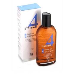 Sim Sensitive System 4 Therapeutic Climbazole Shampoo 4 - Терапевтический шампунь № 4 для раздраженной кожи головы, 215 мл