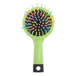 Beauty Essential - Расческа маленькая, Радуга, зеленая