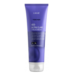 Lakme Teknia Ultra Сlair treatment - Средство придающее блеск светлым оттенкам волос 250 мл