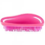 Beauty Essential Tangle Brush - Овальная расчёска для сухих и влажных волос, малиновая