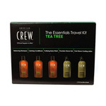 American Crew Tea Tree Essentials Travel Kit - Набор для ухода за лицом и телом «Чайное дерево» 5*50 мл