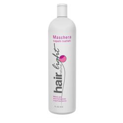 Hair Company Hair Natural Light Maschera Capelli Trattati - Маска для восстановления структуры волос 1000 мл