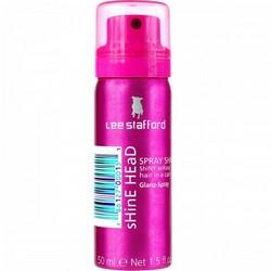 Lee Stafford Shine Head Spray Mini - Спрей для блеска, 50 мл