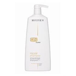 Selective On Care Nutrition Repair Shampoo - Восстанавливающий шампунь для поврежденных волос 750 мл