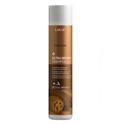 "Lakme Teknia Ultra brown shampoo - Шампунь для поддержания оттенка окрашенных волос ""Коричневый"" 300 мл"