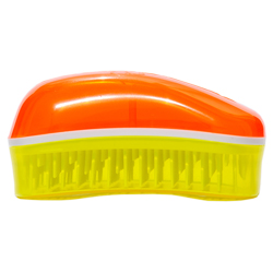 Dessata Mini Summer Tangerine-Yellow - Расческа с ароматом кокоса, Мандарин-Желтый