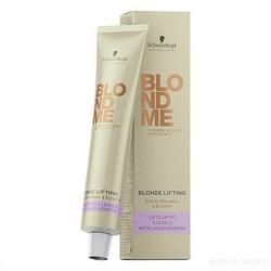 Schwarzkopf BlondMe Lifting Cream - Крем осветляющий для волос Карамель, 60 мл