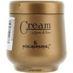Kleral System Semi Di Lino Crema Rigenerante - Маска для волос восстанавливающая с экстрактом льна, 250мл