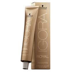 Schwarzkopf Igora Absolute - Крем-краска для зрелых волос, 4-90 Средний коричневый фиолетовый натуральный, 60 мл