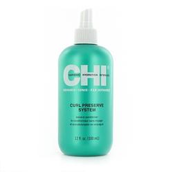 CHI Curl Preserve System Leave In Conditioner - Несмываемый кондиционер Чи для кудрявых волос 355 мл