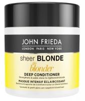 John Frieda Sheer Blonde - Маска для интенсивного ухода за светлыми волосами 150 млJohn Frieda Sheer Blonde - Маска для интенсивного ухода за светлыми волосами 150 мл купить по самой низкой цене с доставкой по Москве и регионам в интернет-магазине ProfessionalHair.<br>