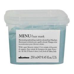 Davines Essential Haircare Minu Hair Mask - Восстанавливающая маска для окрашенных волос, 250 мл.