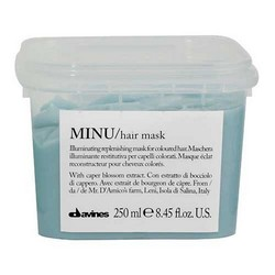 Davines Essential Haircare Minu Hair Mask - Восстанавливающая маска для окрашенных волос, 250 мл.