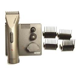 Moser Genio Plus - Машинка для стрижки, 2 аккумулятора, 4 насадки