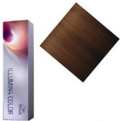 Wella Illumina Color - Крем-краска 6-37, темный блонд золотисто-коричневый, 60 мл.