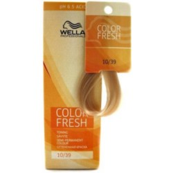 Wella Color Fresh Acid - Оттеночная краска, тон 10.39 шампань, 75 мл.