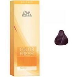 Wella Color Fresh Acid - Оттеночная краска, тон 3.66 баклажан, 75 мл.