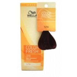 Wella Color Fresh Acid - Оттеночная краска, тон 5.56 рубин, 75 мл.