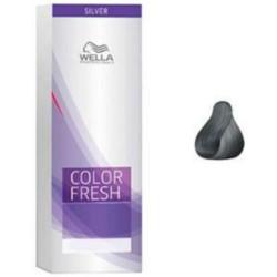 Wella Color Fresh Silver - Оттеночная краска, тон 5.19 светло-коричневый пепельный сандрэ, 75 мл.