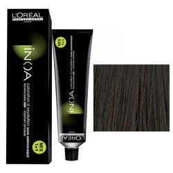 L'Oreal Professionnel Inoa - Краска для волос 7.18, Блондин пепельный мокка, 60 г