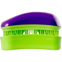 Dessata Hair Brush Mini Purple-Lime - Расческа для волос, Фиолетовый-Лайм