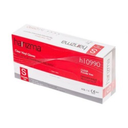 Harizma, h10990-WS - Перчатки винил прозрачные 100шт