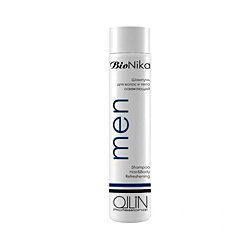 Ollin BioNika Men Shampoo Hair&Body Refreshening - Шампунь для волос и тела освежающий 250 мл
